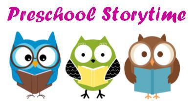 Sept. 28 – Preschool Storytime