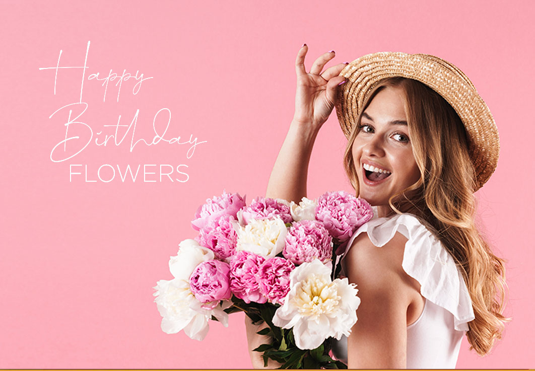 A Unique Array <br> of Birthday Flowers
