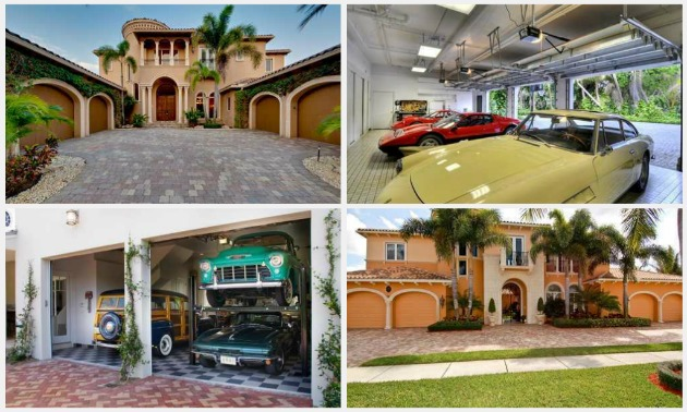 Ft Lauderdale Homes With Large Garages For Cars And Other Vehicles