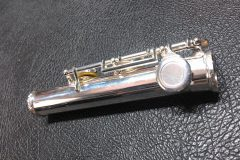 Broken flute socket, repaired.