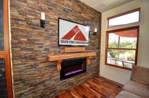 Prairie View Lane Fireplace SF