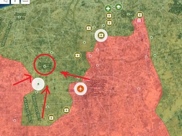 Líbyjská národná armáda sa približuje k Tripolisu uprostred protestov v meste