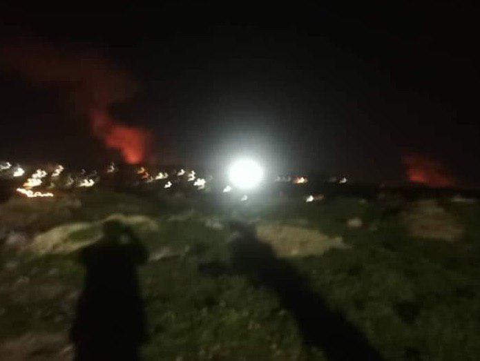 Izraelský Jets zasiahol Sýriu Masyaf priestoru, v blízkosti pozície Ruska-dodal S-300 Launchers