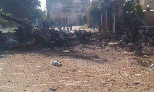 Pro-GNA sily zostrelené MiG-21 líbyjskej národnej armády v blízkosti Tripolisu (fotky, video, mapa)