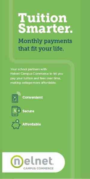 Tuition Smarter. Monthly payments that fit your life.