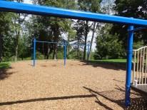 Peterswood, swings and zip line