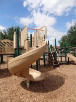 Peterswood, twisting slide