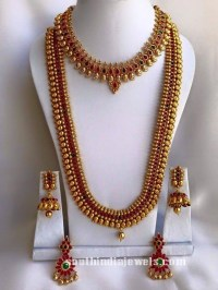 South Indian Wedding Jewellery Set ~ South India Jewels