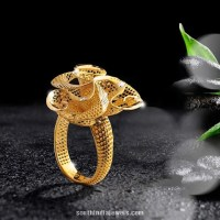 22K Gold Ring Design from Jewel One ~ South India Jewels
