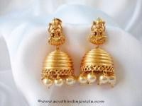 Latest Model Temple Jhumka ~ South India Jewels