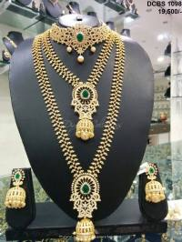 South Indian Bridal Jewellery Sets ~ South India Jewels