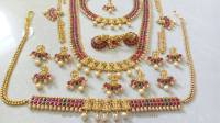 Imitation Kemp Bridal Jewellery Sets ~ South India Jewels