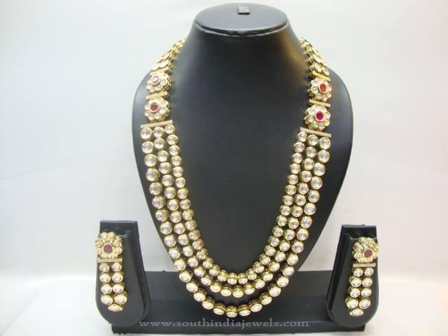 North Indian Kundan Jewellery Set ~ South India Jewels