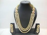 North Indian Kundan Jewellery Set ~ South India Jewels