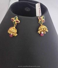 Baby Earrings Gold India Earrings Gold Baby Vummidi ...