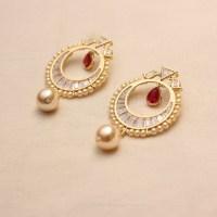Designs of Gold Earrings   Diamond Earrings   Imitation ...