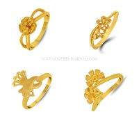 Gold Ring Designs for Female ~ South India Jewels