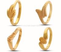 The gallery for --> Designer Plain Gold Ring