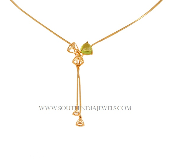 Tanishq Lightweight Gold Necklace Designs with Price ...