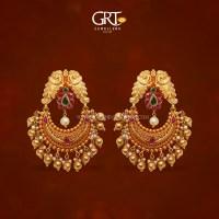 Grt Jewellery Gold Earrings Designs - Jewelry Ufafokus.com