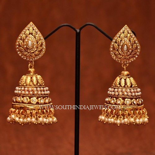 Gorgeous Pearl Buttalu Designs South India Jewels