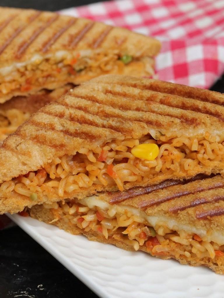 Noodle Sandwich Recipe