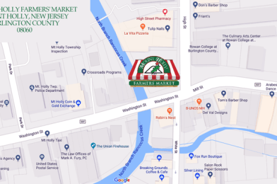 Mount Holly Township to Debut New Farmers Market in June 2019