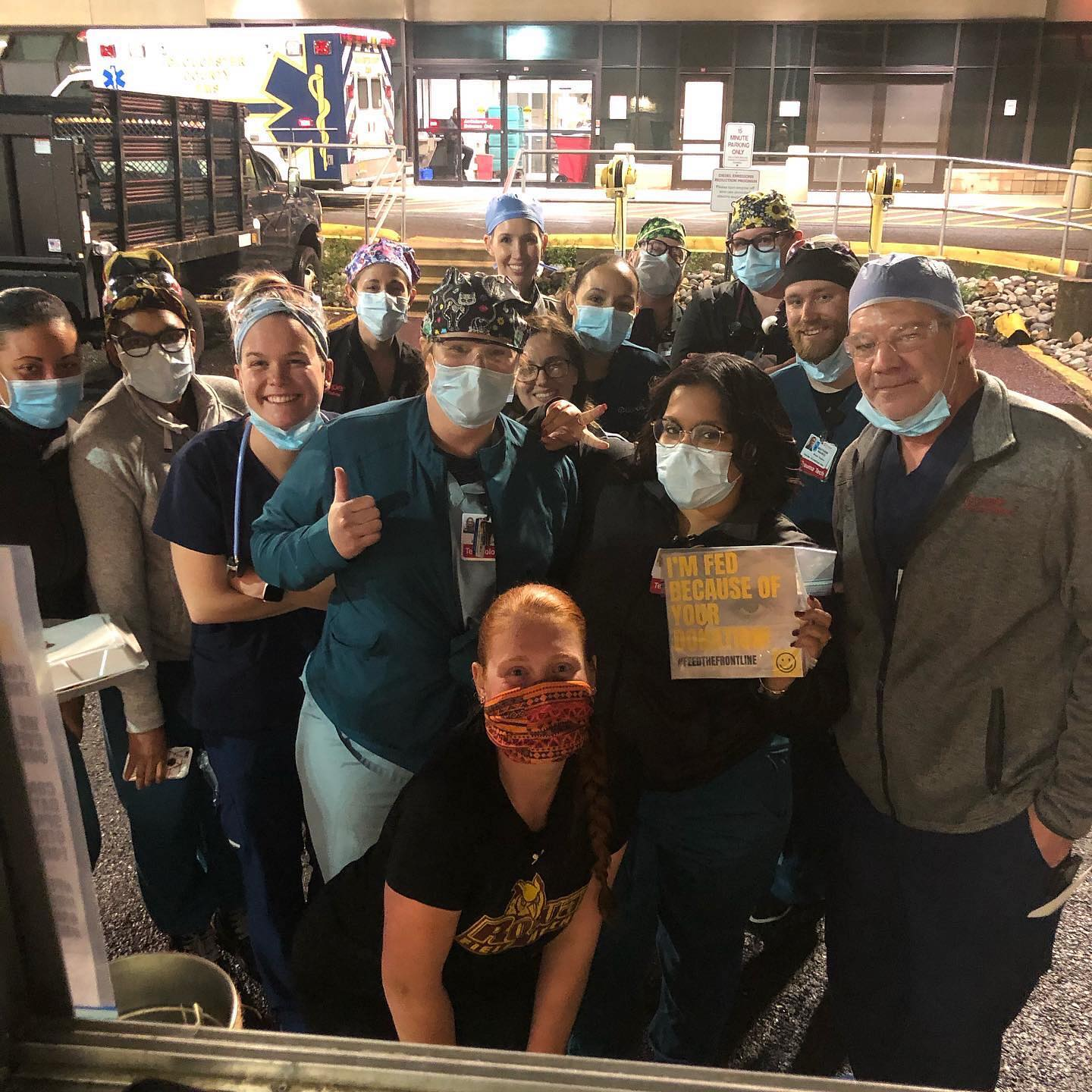 South Jersey Food Trucks Feeding Healthcare Workers at Cooper Hospital