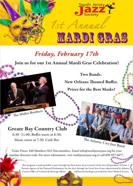 Winter Jazz Series - Mardi Gras Celebration