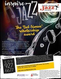 """South Jersey Jazz Society """"Bob Simon"""" Scholarship"""