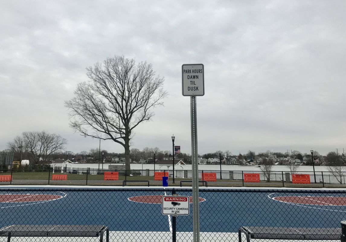 Bellmawr Looks to Install Gates at Creek Road Basketball Court