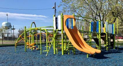 New Playground Equipment at the Scott Merrulla Playground at the Bellmawr Recreation Center