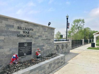 The Bellmawr War Memorial on Creek Road