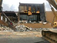 Metro diner demolished