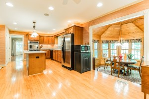 kitchen and dining area 77 Winding Way Mickleton NJ
