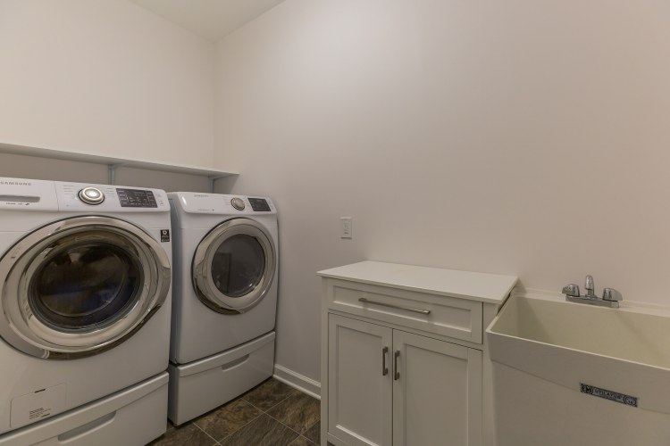 The second Laundry room