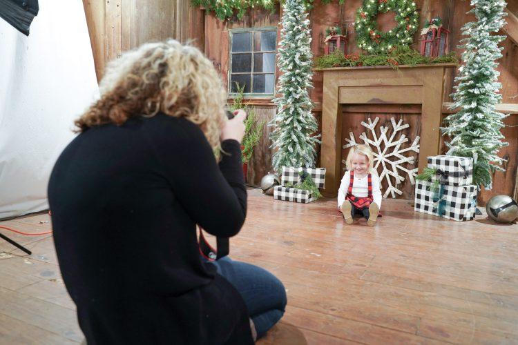 K Artocin photographing a sweet little girl