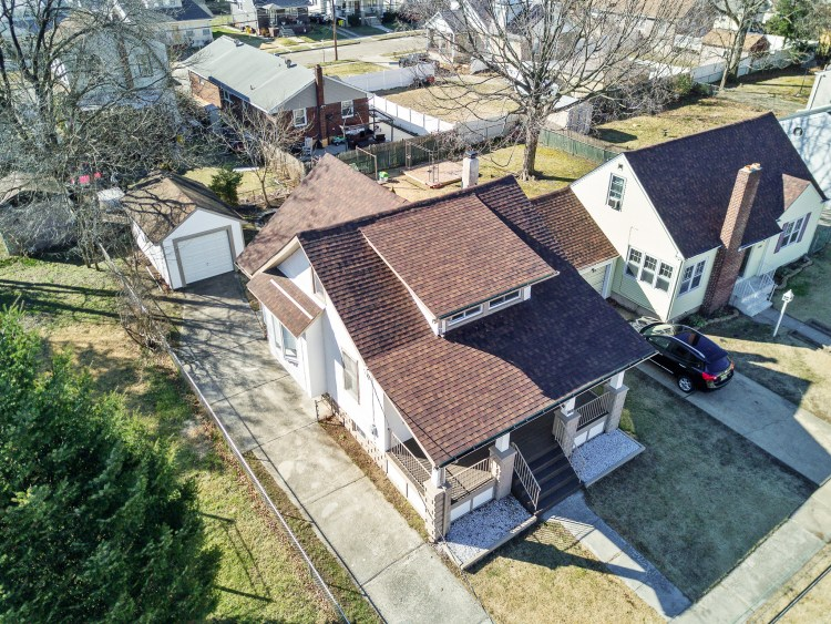 Aerial view of 1765 49th St
