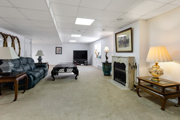 The Finished Basement at 19 Hollybrook