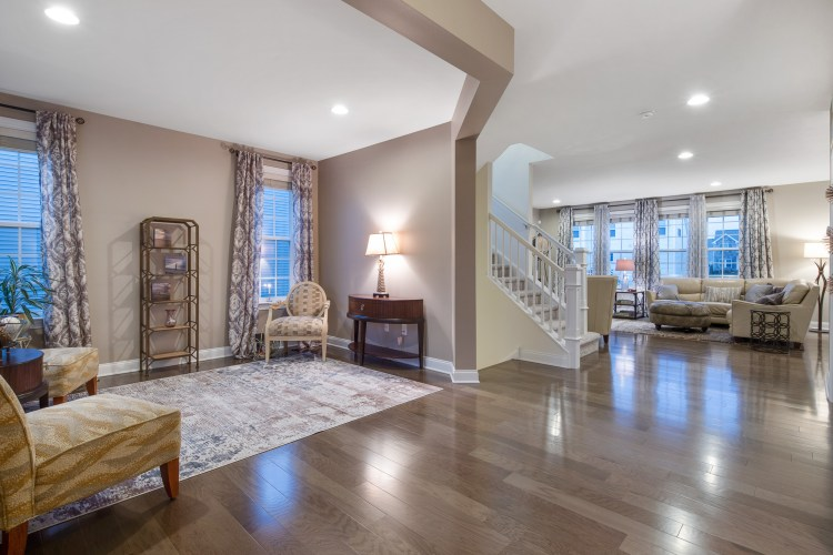 Foyer and Formal living room of 203 Winesap Way
