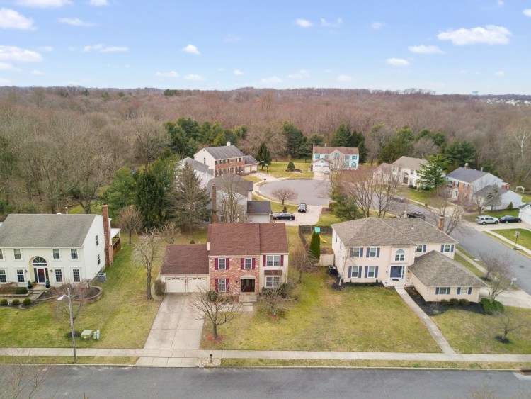 Aerial view of 37 Upton Way Sewell, NJ