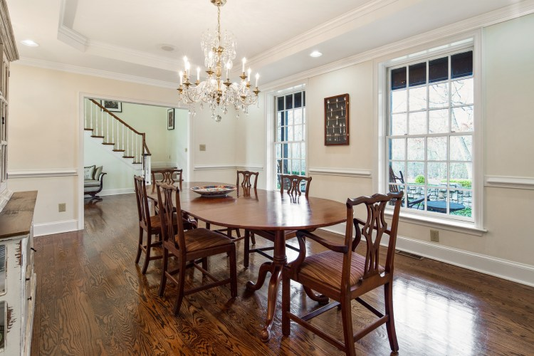Formal Dining Room at 5 Saint Johns Lane