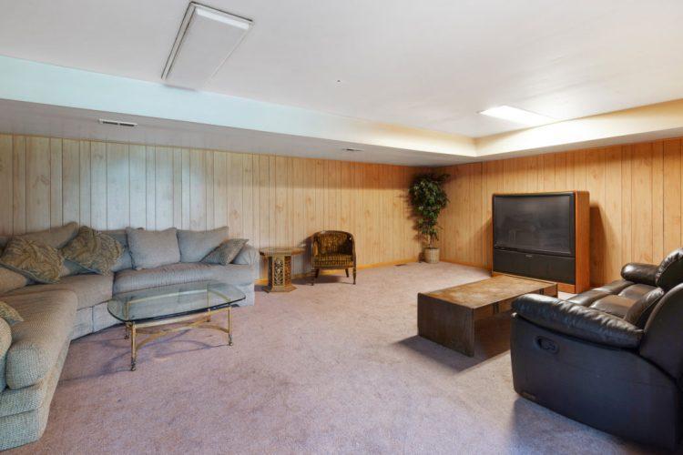 Bonus room on the lower level