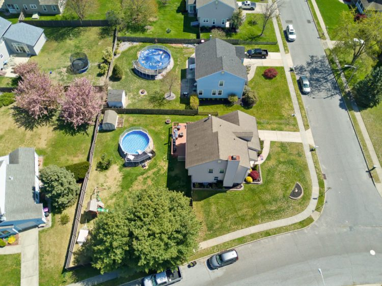 Aerial view of 2 Linden Drive Blackwood.