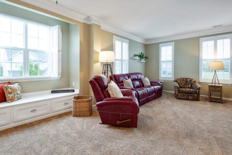 Family room at 460 N Palace Drive