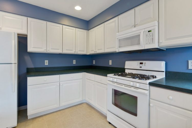 kitchen with white cabinets at 949 Twelve Oak Drive