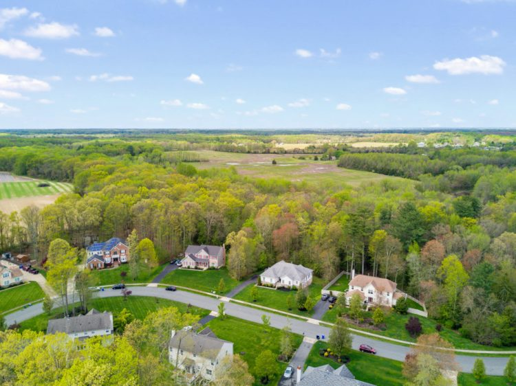 130 Millstone Way Aerial Photoe