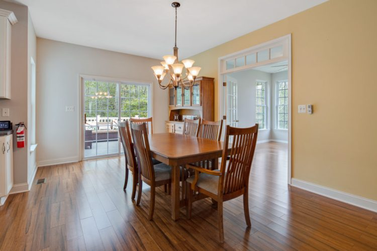 Dining area at 130 Millstone Way