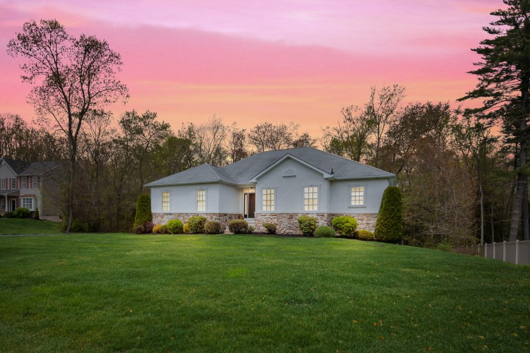 Twilight Image of 130 MIllstone Way Monroeville