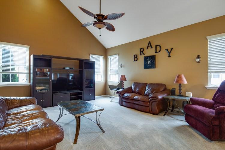 Family room at 21 Honeysuckle